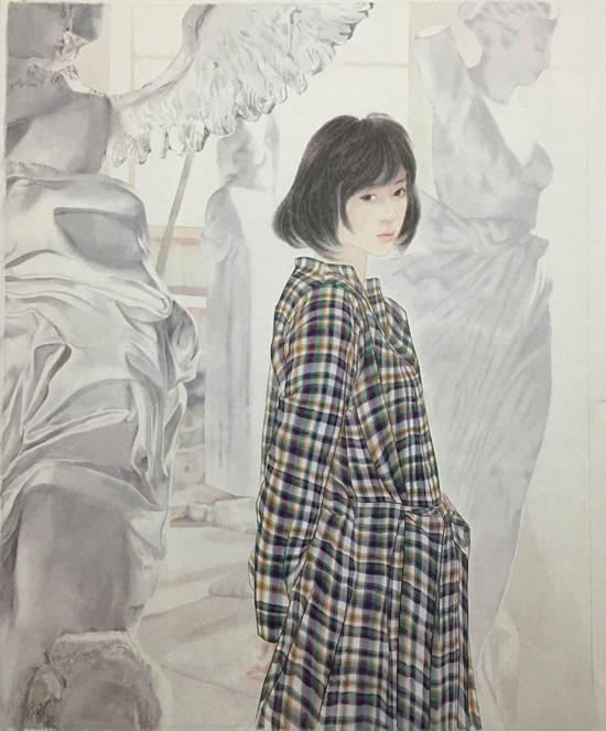 王鹏中国工笔人物画作品欣赏