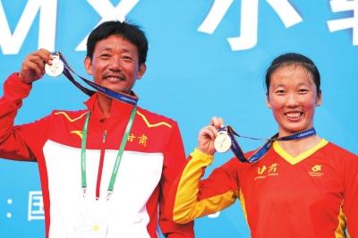 全运会赛场甘肃省收获第三金 女子小轮车再次捍卫国内霸主地位(图)