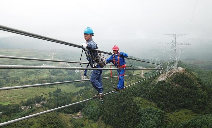 滇西北至广东±800千伏特高压直流输电工程贵州段工程验收进入尾声
