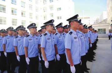 400名警校学员增援敦煌文博会安保