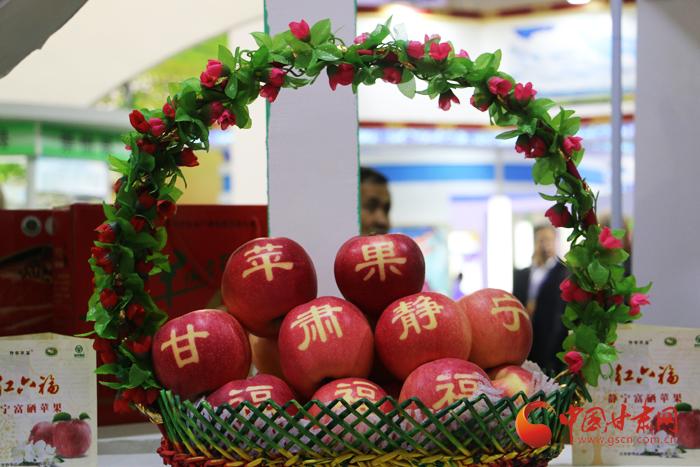 2017年甘肃农业博览会在兰州举行 市民参观热情高涨(图)