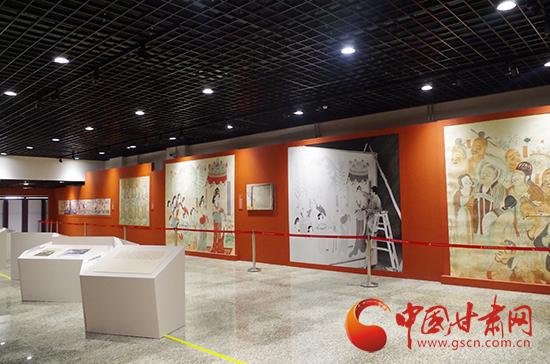 第二届丝绸之路(敦煌)国际文博会文化年展布展就绪图片