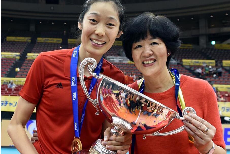中国女排夺得大冠军杯赛冠军
