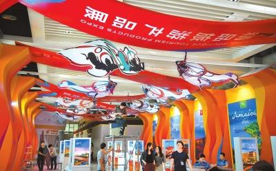 第二届丝绸之路(敦煌)国际文化博览会展览布置工作紧张有序进行(图)