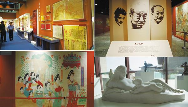 第二届敦煌文博会文化年展9月10日起开始预展