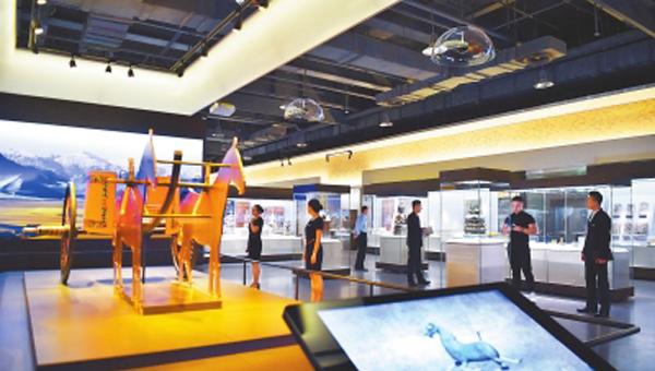 第二届敦煌文博会|《唐蕃古道——八省区市精品文物展》完成布展