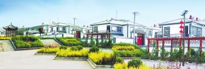 图说甘肃|灵台县南部山区的百里镇古城村一角