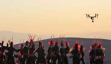 央视《航拍中国》聚焦武威历史文化