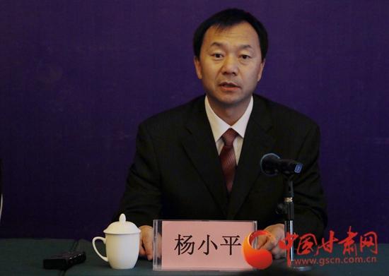 甘肃省委网信办副巡视员杨小平
