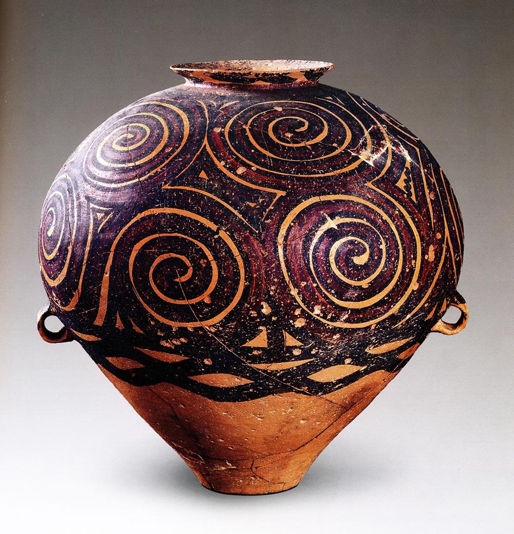 涡纹彩陶瓮