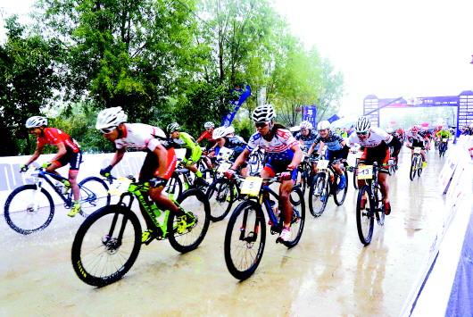 2017年中国山地自行车公开赛在天水麦积区开赛