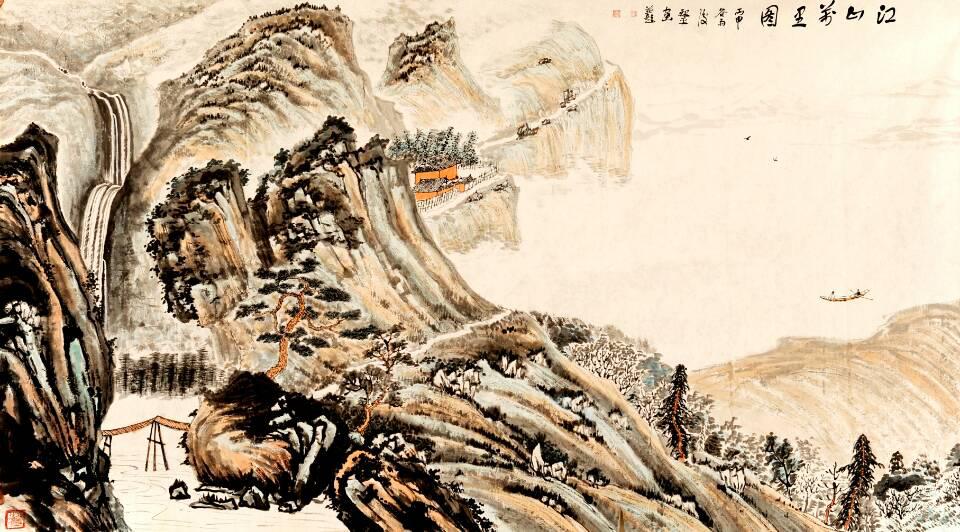 中国甘肃网:田耘 陈银平书画作品巡回展在甘肃兰州举办 - 广平斋主 - 广平斋 银平 书画艺术工作室