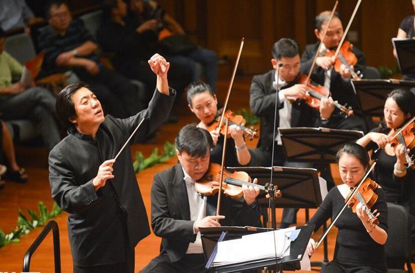 """迎接党的十九大少儿交响合唱音乐会""""在京举行"""