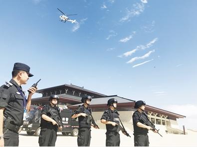 甘肃省公安机关抽调精兵强将构筑全覆盖无死角安全保障网