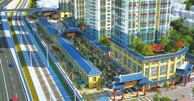 """兰州""""五泉老街""""项目有望在2018年5月前建成"""
