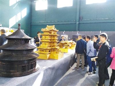 中国传统建筑彩画文化展亮相永靖