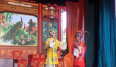 甘肃定西民众体验传统秦腔文化魅力