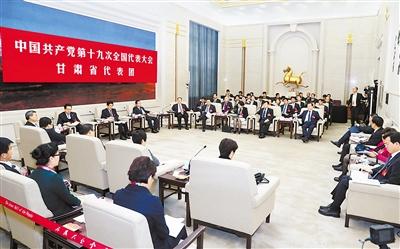 60多家媒体聚焦甘肃省代表团开放日(图)
