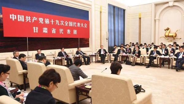 60多家媒体聚焦甘肃省代表团开放日