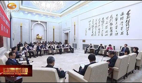 十九大新闻快报 60多家媒体聚焦甘肃省代表团开放日