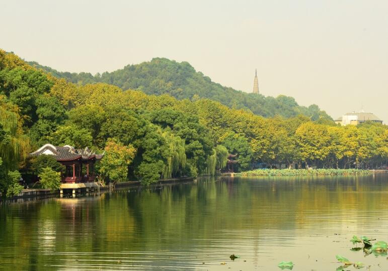 杭州:天气连晴 秋色渐浓