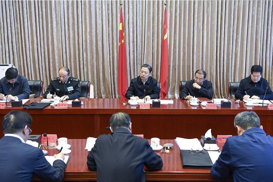 赵乐际主持十九届中央纪委常委会第一次会议并讲话