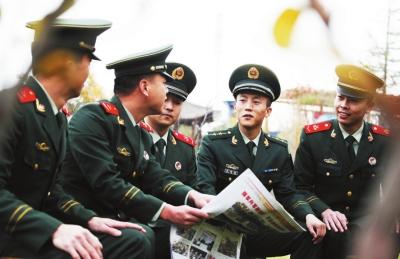 武警甘肃省森林总队掀起学习十九大精神高潮(图)