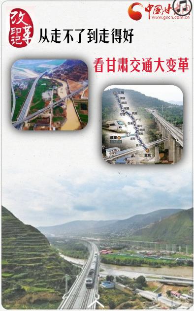 H5 |【改革·印记】从走不了到走得好看甘肃交通大变革