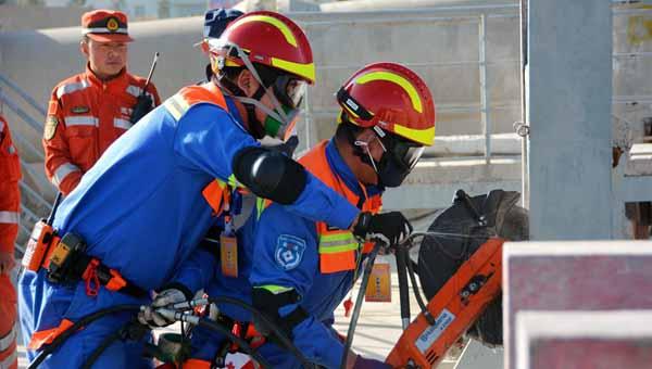 2017社会救援组织技能竞赛在兰国家陆地搜寻基地举行