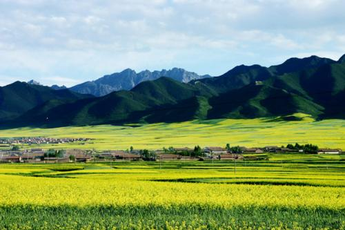 张掖市民乐县发展旅游产业助力脱贫攻坚