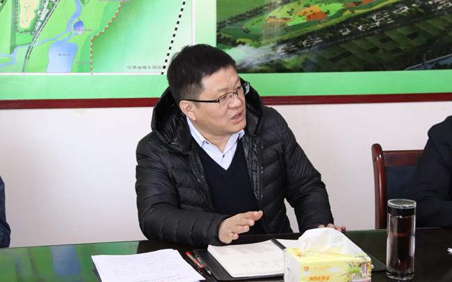刘昌林在古浪调研时强调 以优良作风推动十九大精神落地生根