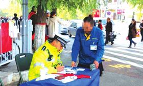 兰州城关交警大队针对辖区部分违法现象采取多项措施