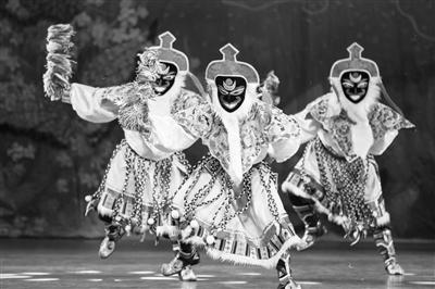 """甘肃省民族歌舞团将""""起舞""""美国展陇原魅力(图)"""