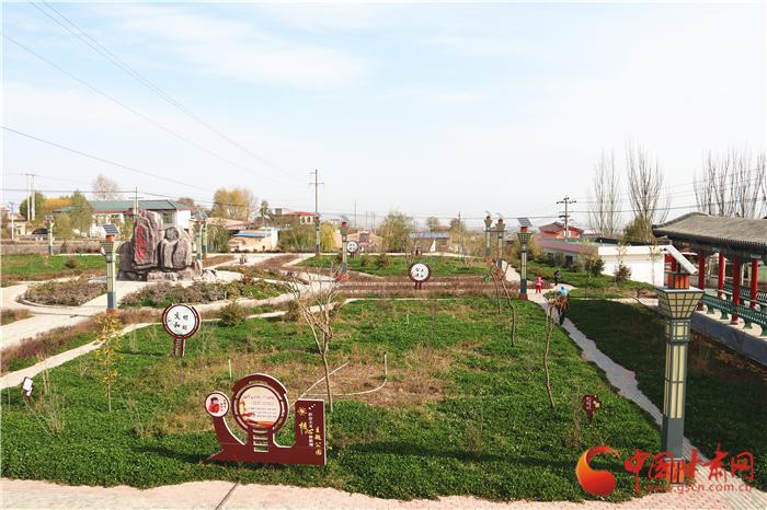 【改革·印记】兰州榆中:环境整治增颜值 美丽乡村入画来(组图)