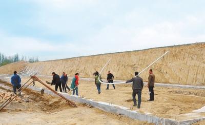 截至目前 酒泉市永久村建成600亩连片示范基地