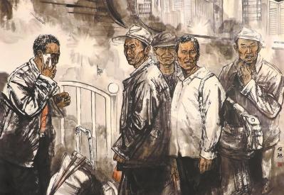 陇山·陇水·陇人 ——第七届甘肃省专业画院作品展获奖作品选