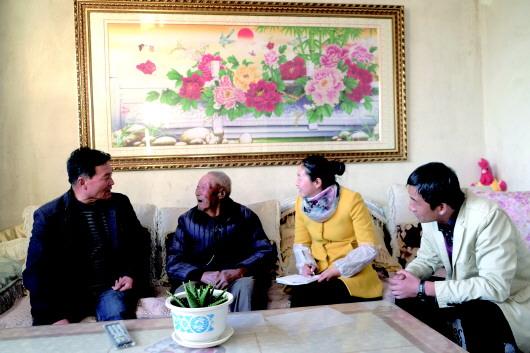 """""""好时代就要好好地活""""——从肃州区西峰镇看酒泉高龄老人的幸福生活"""