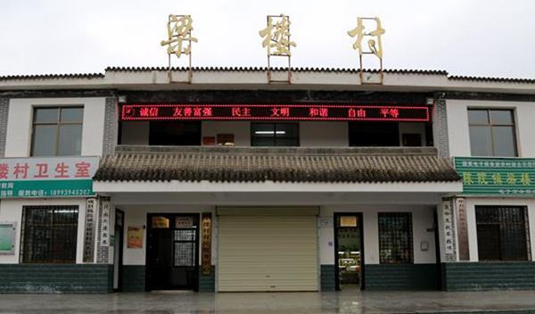 【领航新征程】陇南成县梁楼村:党员引领示范 开启农村脱贫致富新模式(图)