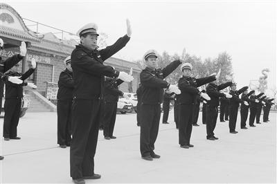 兰州高新区禁毒、消防、交通安全员培训结业仪式在兰州市警校举行