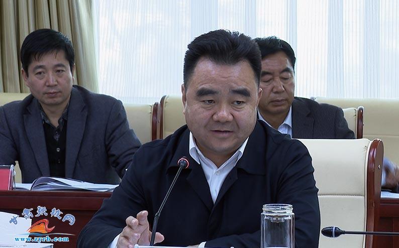 黄泽元主持召开张掖市政府第21次常务会议