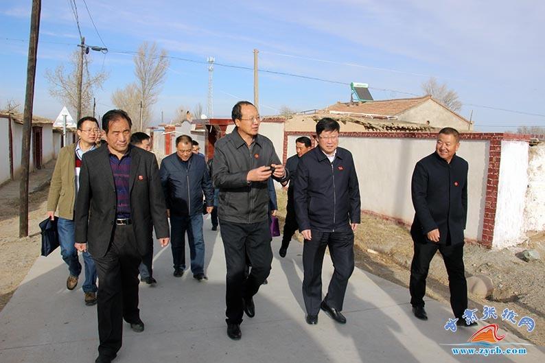 党的十九大精神省委宣讲团深入张掖基层调研宣讲