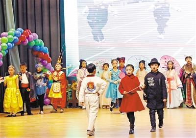 """北京第二实验小学兰州分校:一场特殊的""""十岁成长礼""""(图)"""