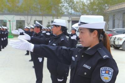 兰州高新区33名安全员正式上岗(图)
