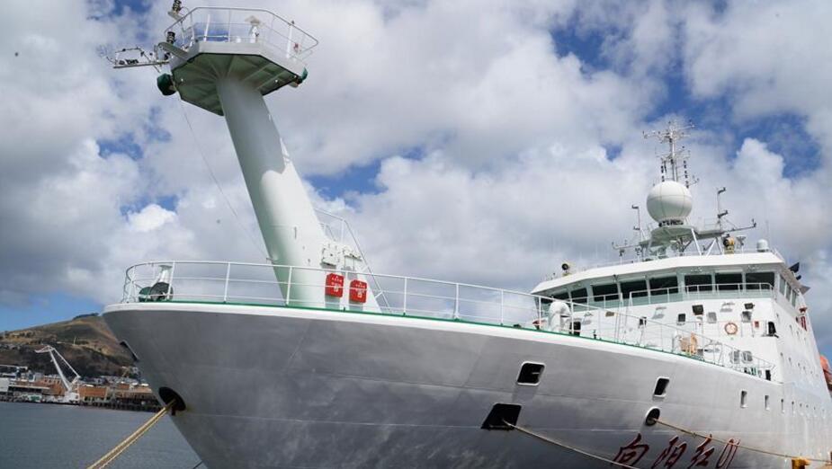 中国首次环球海洋综合科考再探南大西洋