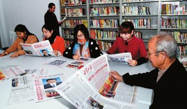 天水市麦积区380个农家书屋实现了党的十九大文献全覆盖