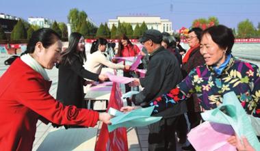 """白银平川区组织开展""""反恐怖主义法宣传月""""活动"""