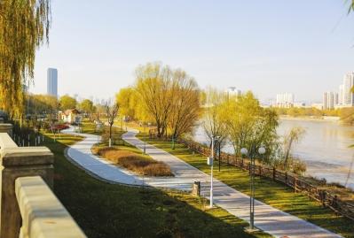 兰州市已建成9条健身景观线 形成贯穿黄河风情线的绿色通道