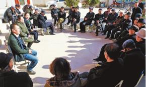 白银市靖远县学习宣传党的十九大精神(图)