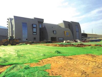 兰州彭家坪水厂主体结构验收全部完成