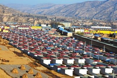 定西市陇西县双泉镇正在推进城镇化建设(图)